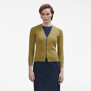 Mm Lafleur Billie Cardigan in Olive